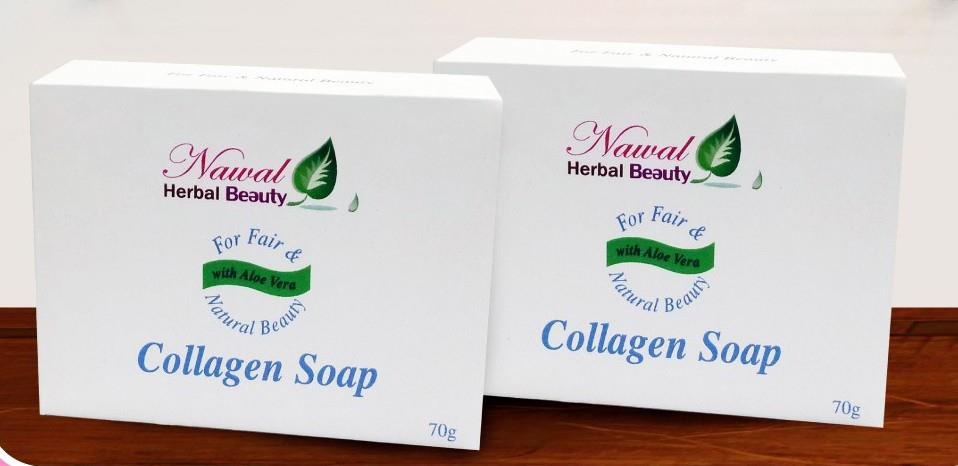 collagen soap Nawal Beauty Herbal