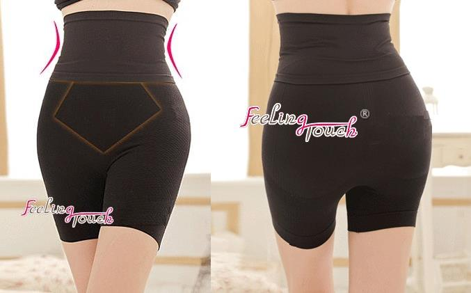 Double Strengthen High Waist Slimming Pants 8