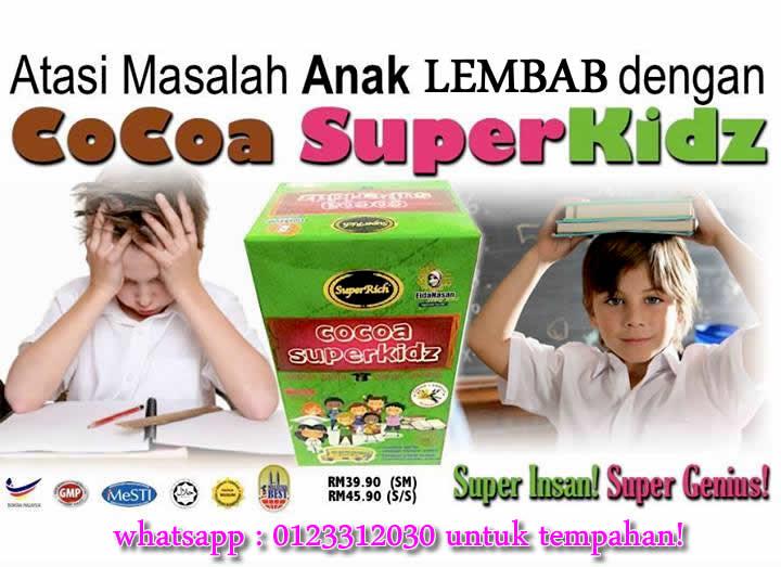 cocoa superkids untuk anak lembab belajar